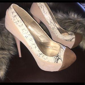 Quips heels size 5.5